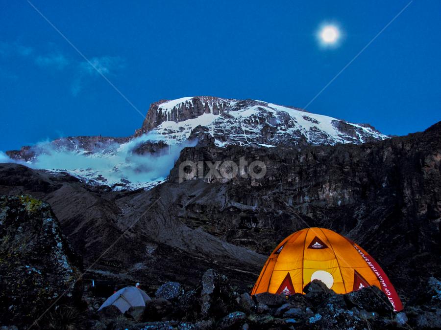 Kilimanjaro by Fabio Ferraro - Travel Locations Landmarks ( mountain, vulcan, kibo, kilimanjaro, tanzania )