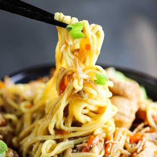 Slow Cooker Chicken Chow Mein.