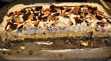 Oreo Cookie Ice Cream Dessert-annette's Recipe
