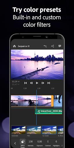Adobe Premiere Rush u2014 Video Editor 1.5.20.571 screenshots 8