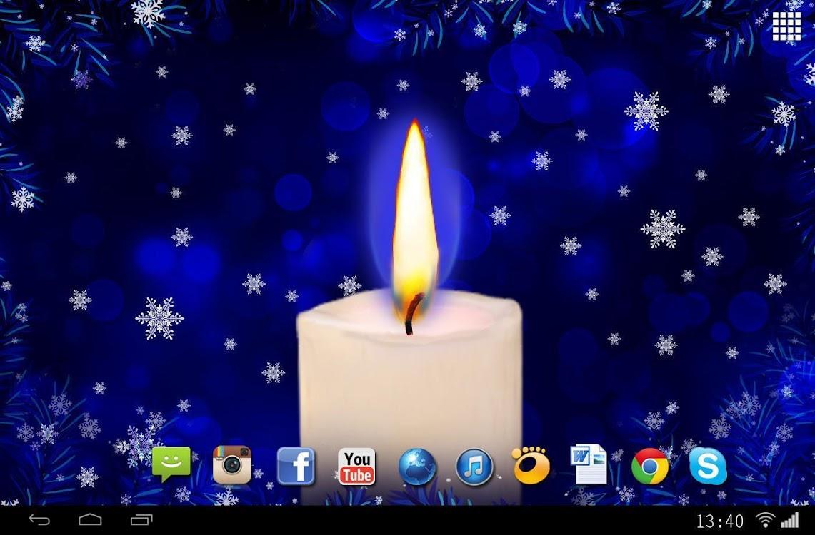 Christmas Candle Wallpaper 2018 Android Aplicaciones