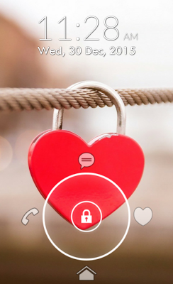 Love Pattern Lock Screen - screenshot