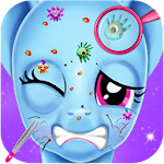 Rainbow Dash Hairy Face Makeover