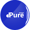 Wave Round Icon Pack - thème bleu marine APK