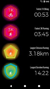Shadow - GPS Running Biking - náhled
