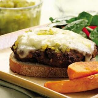 Portobello & Beef Patty Melt
