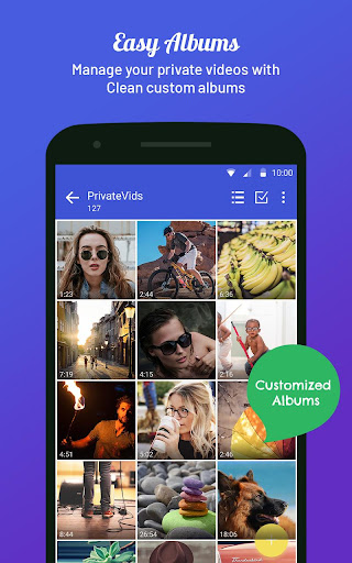 Video locker - Hide videos, Private video vault 5.3 screenshots 8
