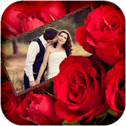 Red Roses Photo Frames