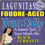 Lagunitas Aunt Sally Foudre-Aged W/Black Currants