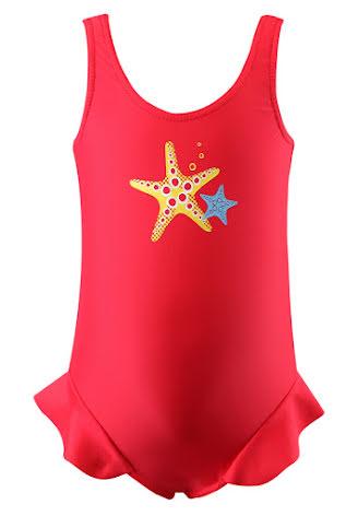 Reima Corfu 584010-3710 Flame Red Baby swimsuit