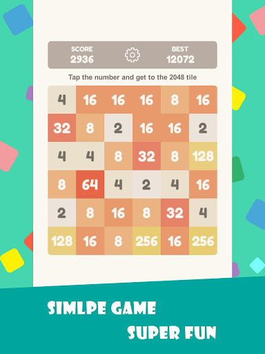 Tap 2048 - worldwide poplar game apkdebit screenshots 9