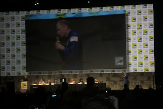 Photo: Friday - Big Bang Theory panel; astronaut presenting a trip to space!