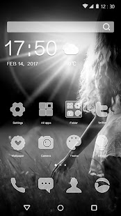 Beautiful Fashion Girl Theme for Android - náhled