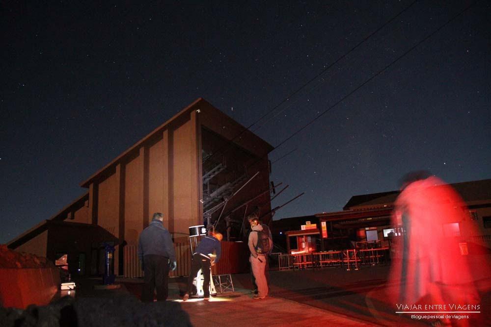 Visitar o Observatório Astronómico do Teide   Espanha