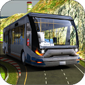 Uphill Off road Real Coach Bus Driver Simulator 18 icon