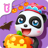 Baby Panda's Theme Party - Halloween & Beach Party