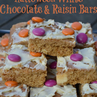 White Chocolate & Raisin Bars.