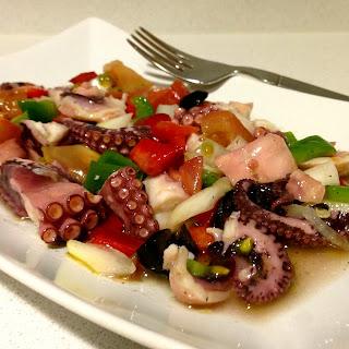 Octopus in Vinaigrette