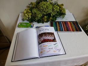 Photo: Das Buch für Hans Kleedorfer. Hier die Ministrantenseite.