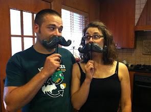 Photo: mustache hooks!