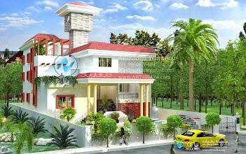 Photo: Modern House Rendering