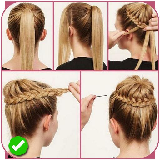 Easy braid hairstyle tutorials