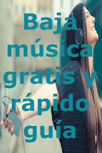 Bajar musica gratis y rapido En MP3 Guia Facil - náhled