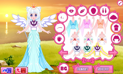 Dress up princess doll - náhled