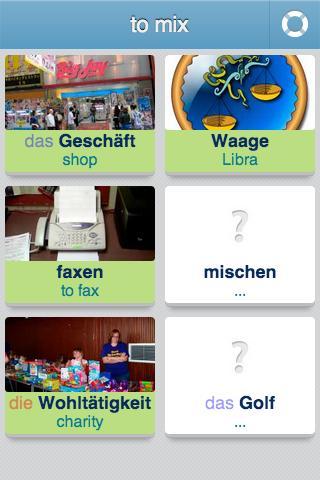 Learn German - 3,400 words screenshot 2
