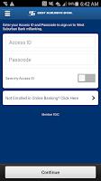 Screenshot of West Suburban Bank
