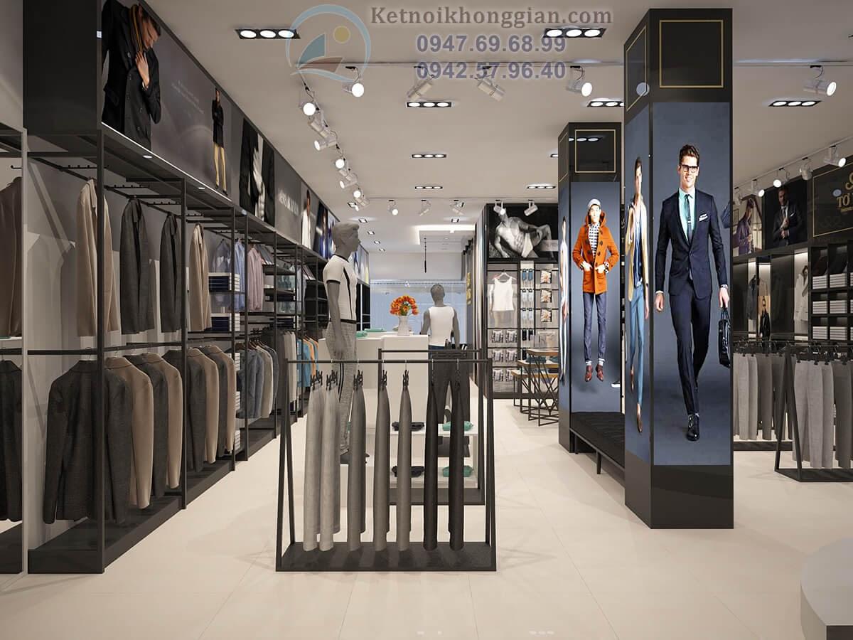 thiết kế shop quần áo thời trang cao cấp