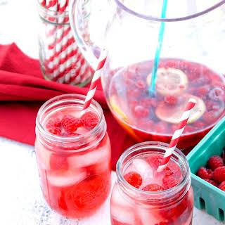 Raspberry Rosé Sangria.