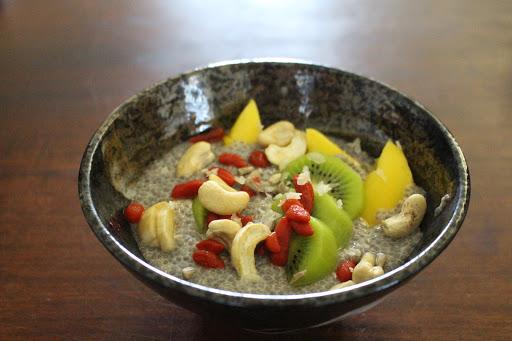 Pudding de chia aux fruits exotiques