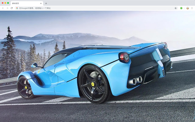 Ferrari Top Cars HD New Tabs Themes