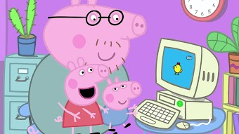 Mummy Pig At Work / Piggy In The Middle