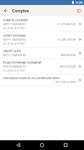 Crédit Mutuel- screenshot thumbnail