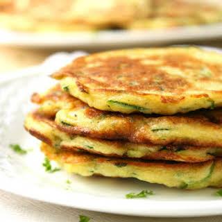Zucchini Pancakes.