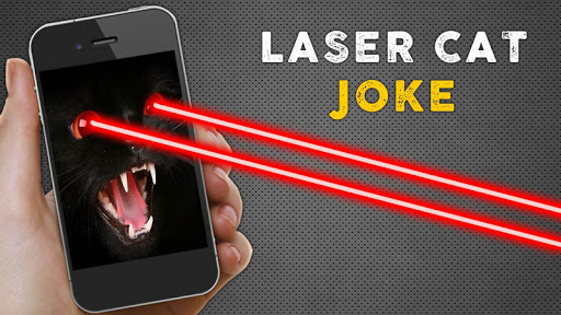 玩免費模擬APP|下載Laser Cat Joke app不用錢|硬是要APP