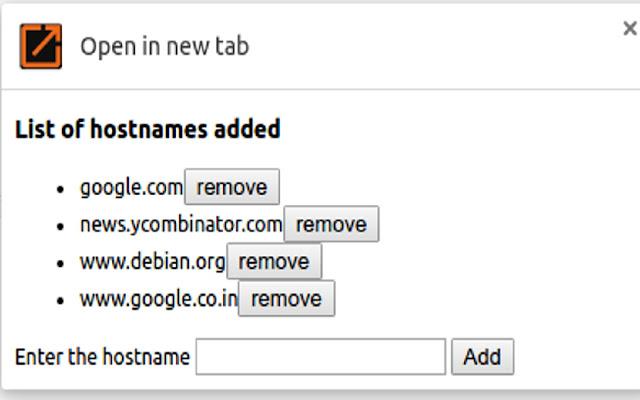 Screenshot for Chrome