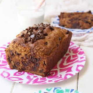 Healthy Chocolate Chip Bread (DF, GF)