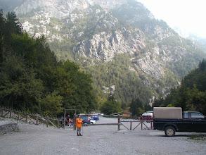 Photo: Start des Aufstiegs bei Prioni
