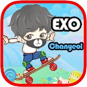 EXO Chanyeol Skate