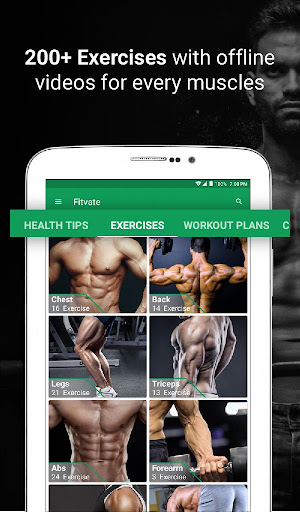 Fitvate - Home & Gym Workout Trainer Fitness Plans 6.8 screenshots 17