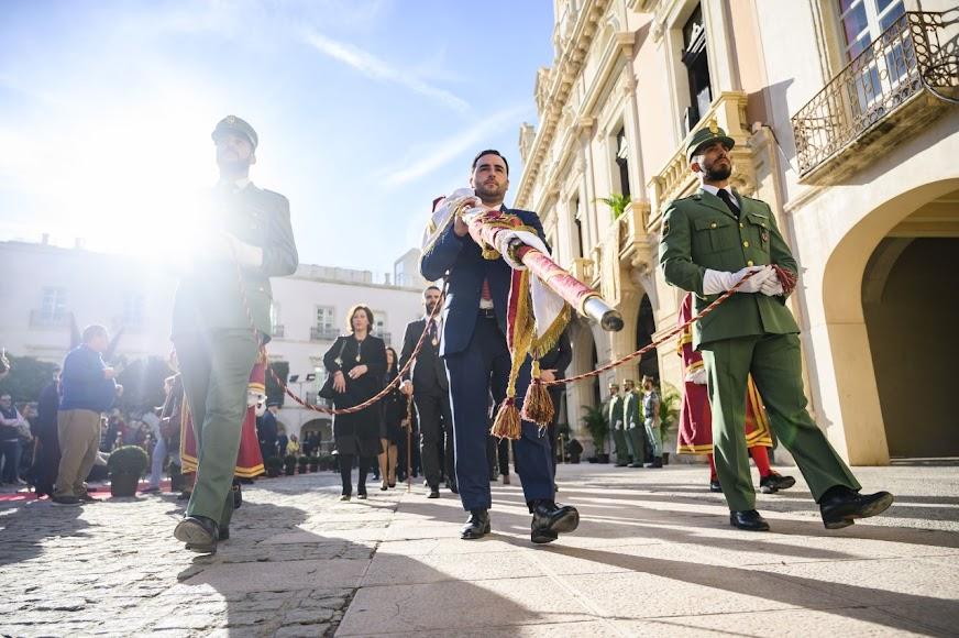 Acto celebrado en la Plaza Vieja.