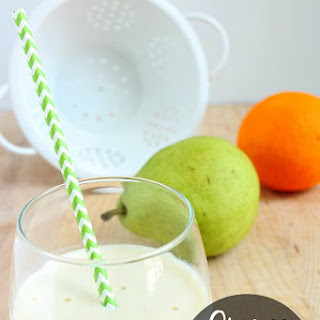 Orange Pear Smoothie.