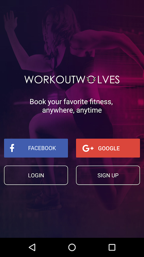 WorkoutWolves- screenshot