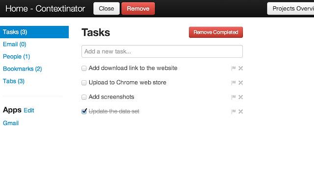 Contextinator Screenshot