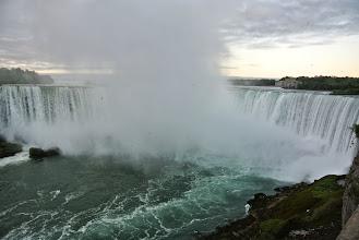 Photo: The falls at sunrise.