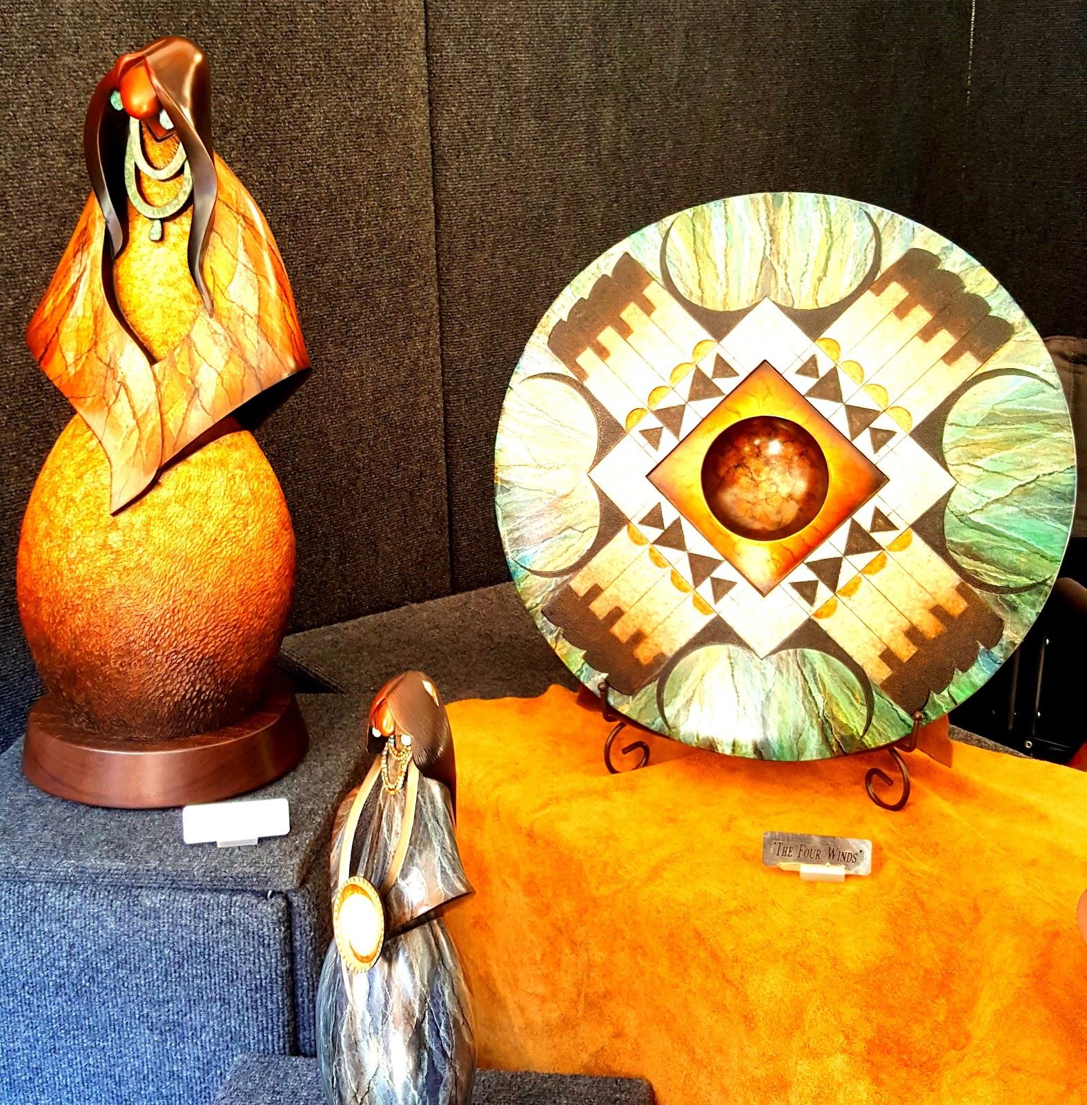 Kim Seyesnem Obrzut (Hopi) artistry - Photo: Harlan McKosato