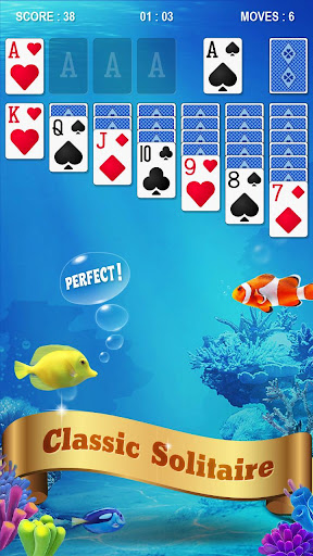 Solitaire - Fish screenshot 1